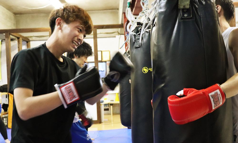 総合格闘技パーソナルトレーニング