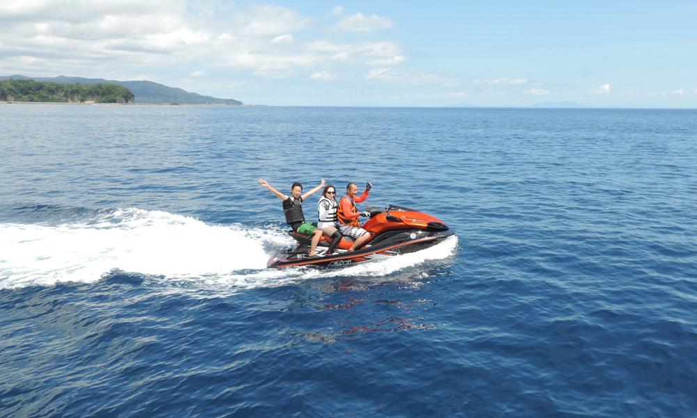 水上バイクコース