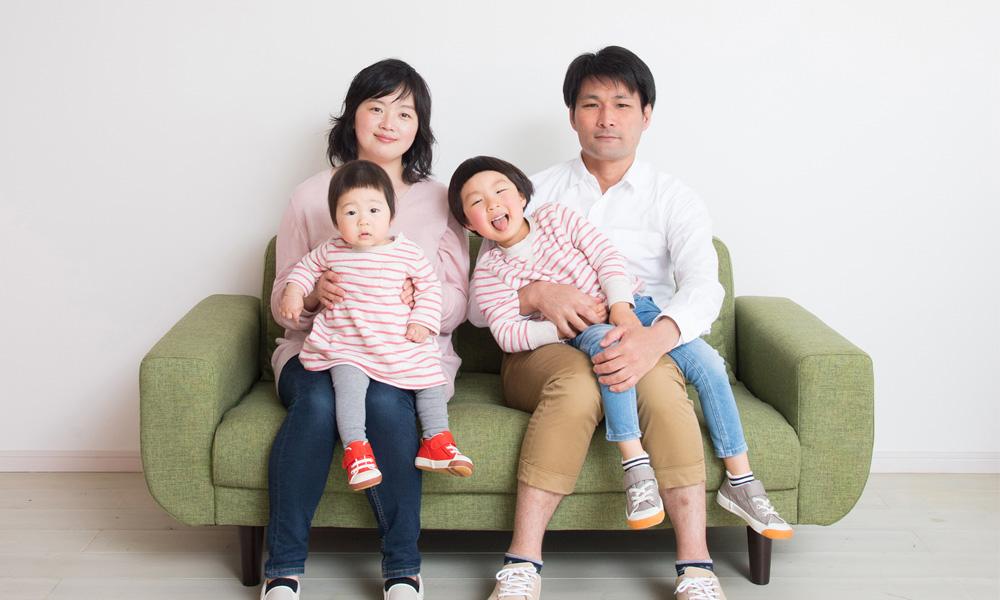 カップルフォト・家族写真撮影【記念撮影+額付き】