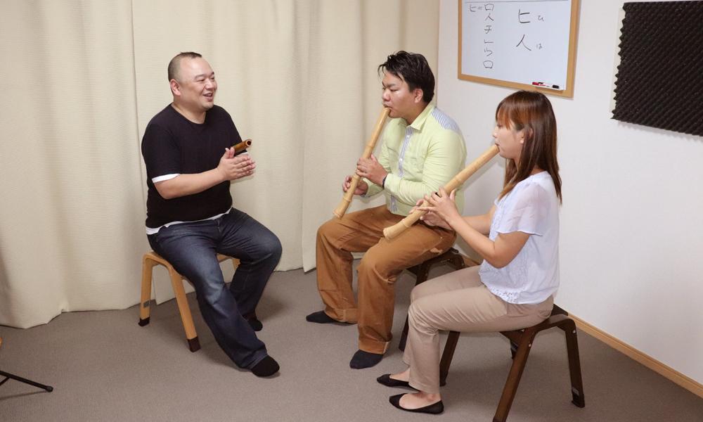 プロの奏者に学ぶ 尺八レッスン
