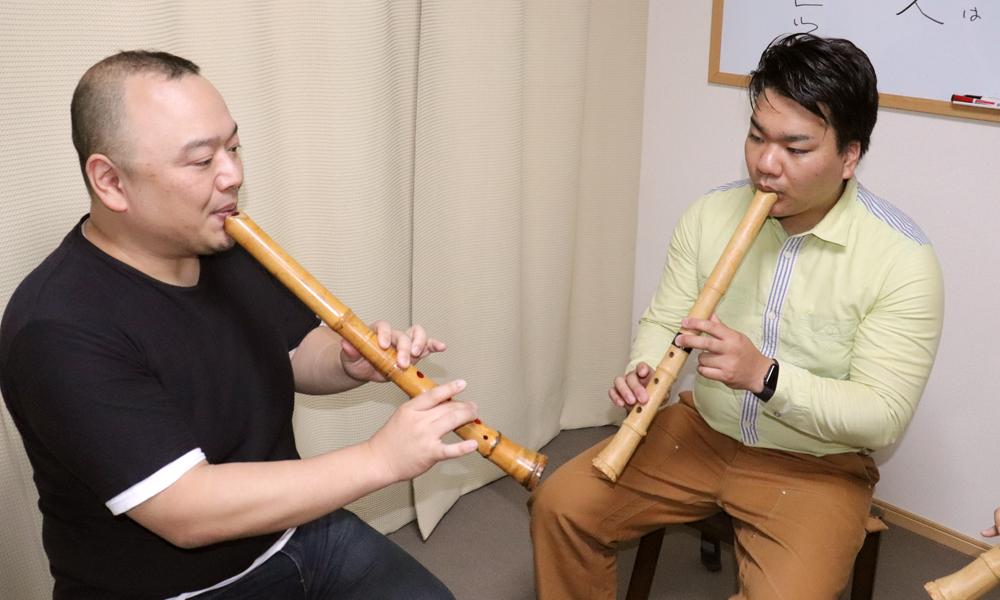 プロの奏者に学ぶ 尺八レッスン【2回分】