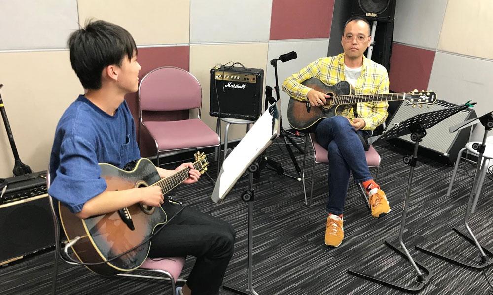 アコースティックギター プライベートレッスン【2回コース】