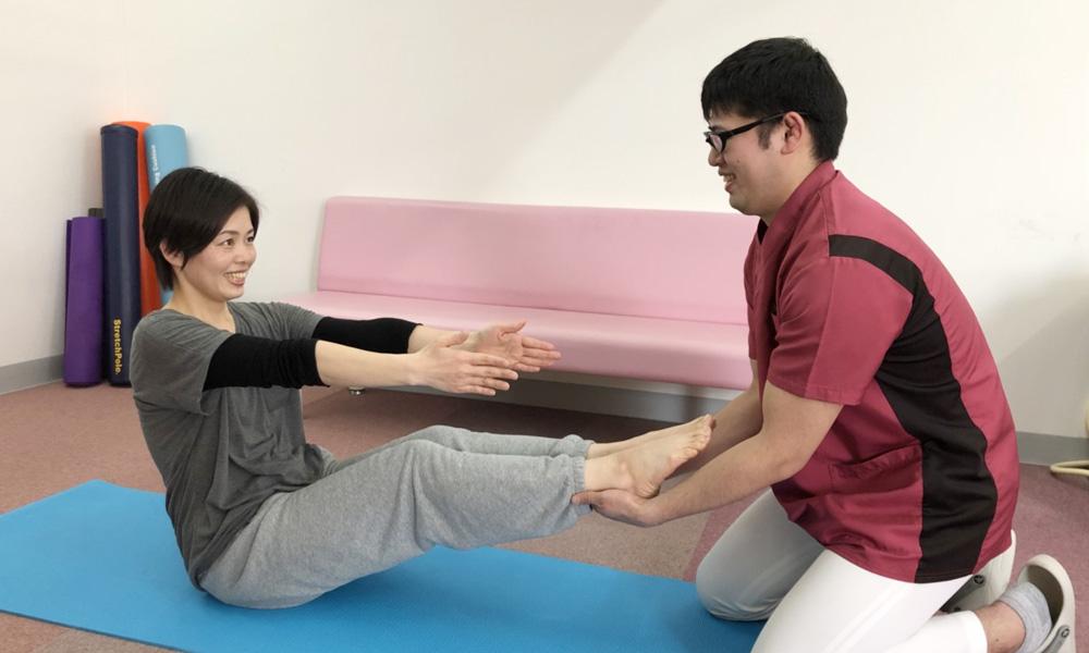 ボディケアと体幹トレーニング