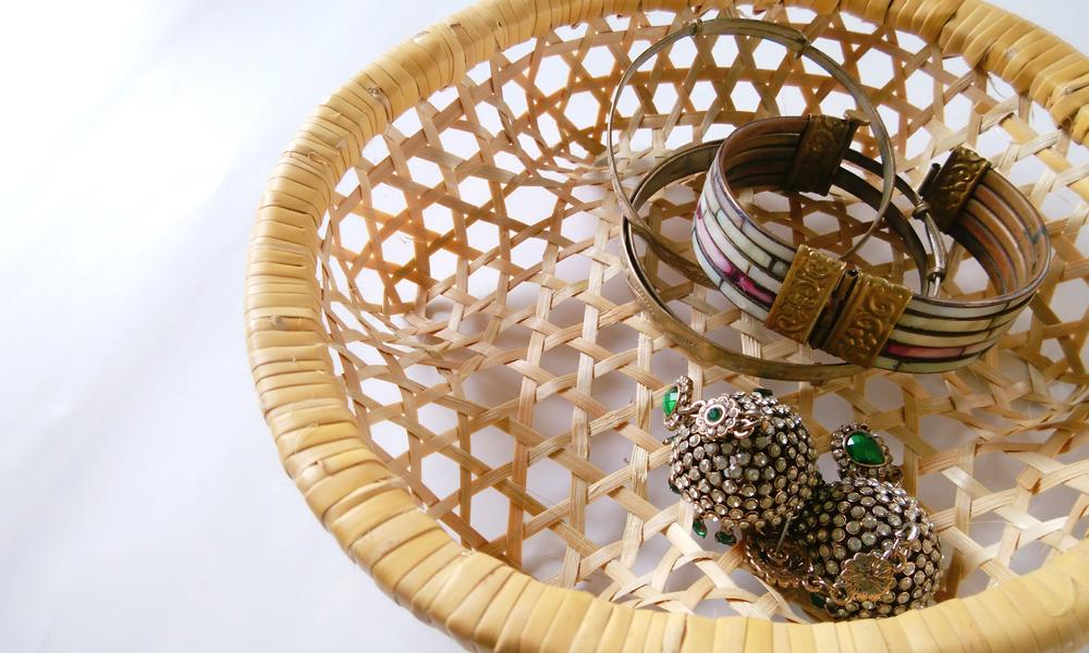 手編み籠の魅力を感じる 平成籠づくり体験