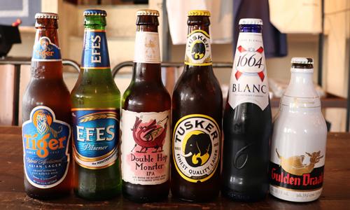 世界のビール飲みくらべ